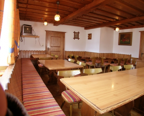 large farmhouse parlor in the organic farm Rupbauer
