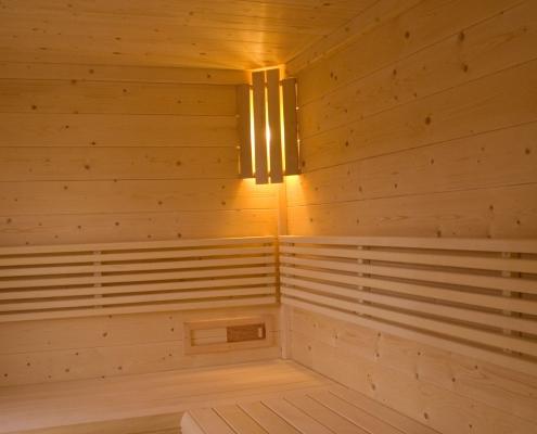 Sauna - organic farm Rupbauer