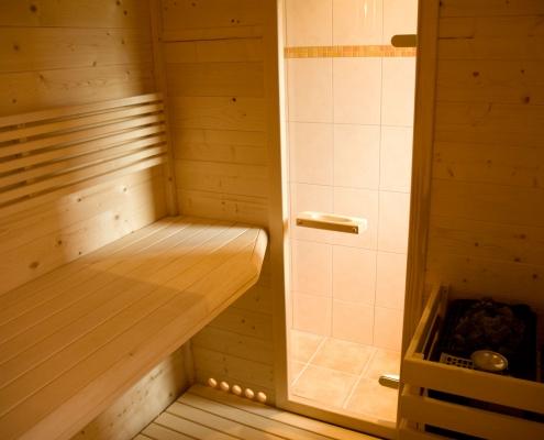 klassische Sauna zur Erholung - Bio Bauernhof Rupbauer