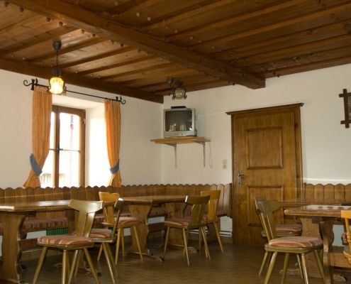 farmhouse parlor in the organic farm Rupbauer