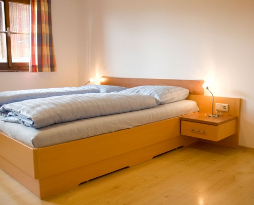 Double room in the Bio Bauernhof Rupbauer - self-catering house
