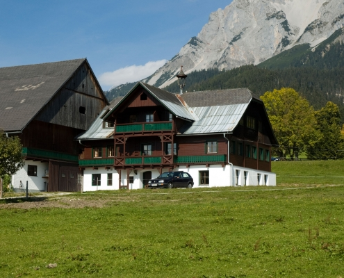 Self-catering house in Ramsau am Dachstein - organic farm Rupbauer