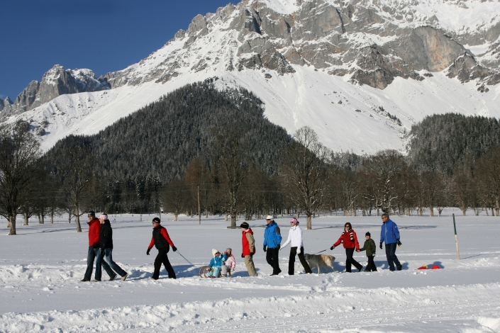 Winter hiking on wonderfully groomed trails - Ramsau am Dachstein