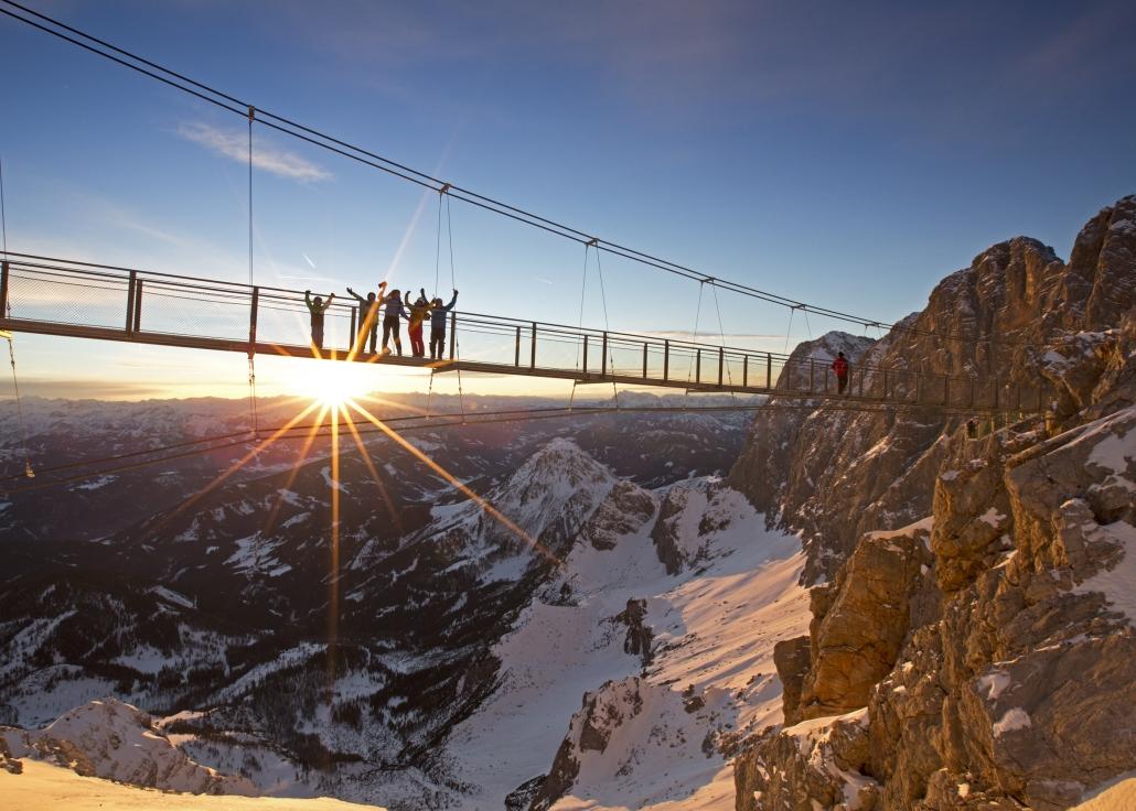 Attraction Dachstein Suspension Bridge - Organic Farm Rupbauer
