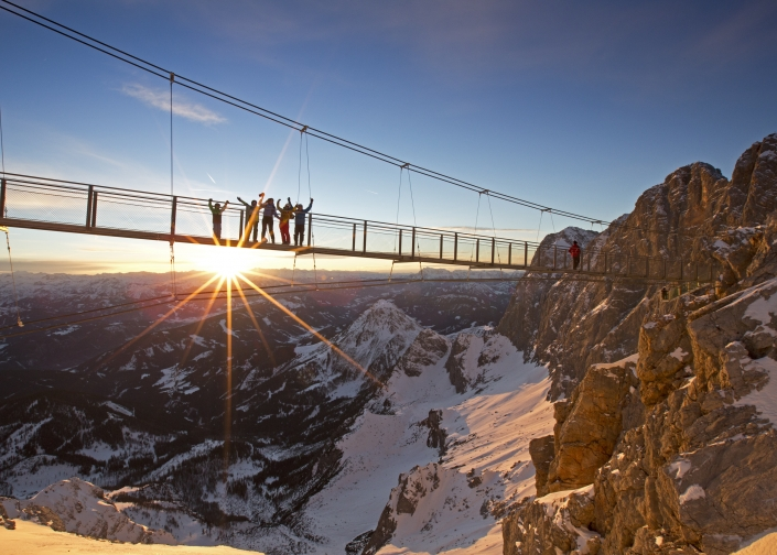 Attraction Dachstein Suspension Bridge - Organic Farm Rupbauer