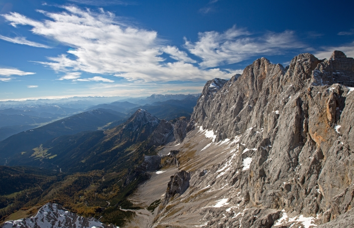 fascinating Dachstein massif - organic farm Rupbauer